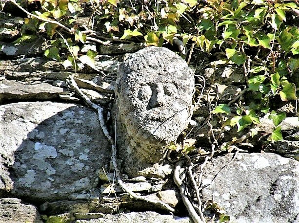 Picture_An_Gadaidhe_Dubh_stone_carved_head_Ballyvourney